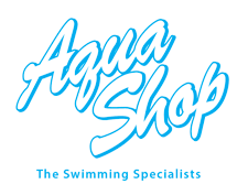 Aqua Shop logo_cyan